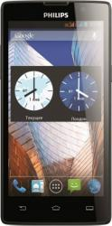 imagine Telefon Mobil Philips Xenium W3500 Dual SIM Black w3500 black