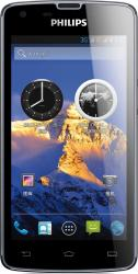 imagine Telefon Mobil Philips Xenium W8510 Dual SIM Blue w8510 blue
