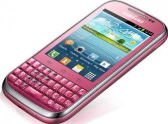 imagine Telefon Mobil Samsung B5330 Galaxy Chat Pink. samb5330pnk_resigilat