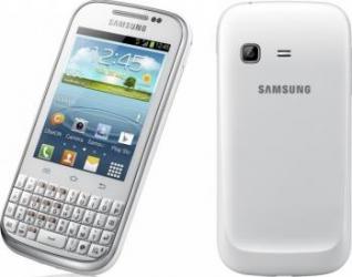 imagine Telefon Mobil Samsung B5330 Galaxy Chat White. samb5330wh_resigilat