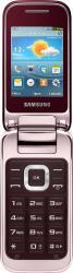 imagine Telefon Mobil Samsung C3590 Wine Red gt-c3590wrarom