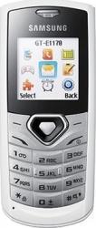 imagine Telefon Mobil Samsung E1170 White e1170 white