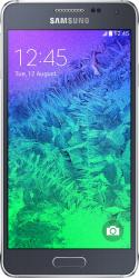Telefon Mobil Samsung Galaxy Alpha G850F Black