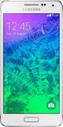 Telefon Mobil Samsung Galaxy Alpha G850F White Resigilat