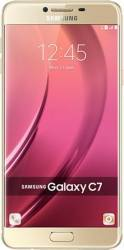 Telefon Mobil Samsung Galaxy C7 32GB Dual Sim 4G Gold Telefoane Mobile