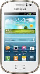 imagine Telefon Mobil Samsung Galaxy Fame Duos S6812 White. 75659_resigilat