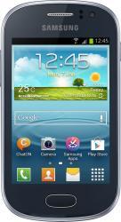 Telefon Mobil Samsung Galaxy Fame S6810 Mettalic Blue