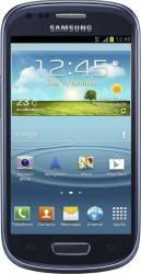 imagine Telefon Mobil Samsung Galaxy S3 Mini I8190 Blue s3 mini blue