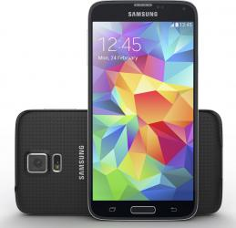 Telefon Mobil Samsung Galaxy S5 G900FD 4G Dual SIM Black