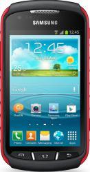 imagine Telefon Mobil Samsung Galaxy Xcover 2 S7710 Black Red sams7710kra