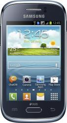 imagine Telefon Mobil Samsung Galaxy Young S6310 Blue. sams6310db_resigilat