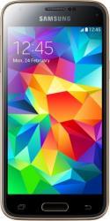 imagine Telefon Mobil Samsung S5 Mini G800F Gold sm-g800fzdarom