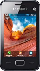 imagine Telefon Mobil Samsung S5220 Star 3 Black. s5220 star 3 modern black_resigilat