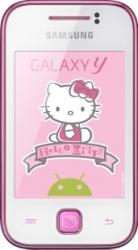 imagine Telefon Mobil Samsung Galaxy Y S5360 Hello Kitty. s5360kit_resigilat