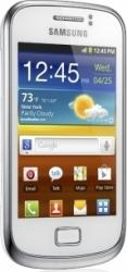 imagine Telefon Mobil Samsung S6500 Galaxy Mini 2 White. gt-s6500rwdcoa_resigilat