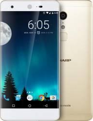 Telefon mobil Sharp A1 32GB Dual SIM 4G Gold Telefoane Mobile