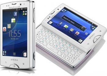 imagine Telefon Mobil Sony Ericsson TXT PRO CK15i White. 40790_resigilat