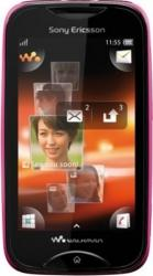 imagine Telefon Mobil Sony Ericsson Wt13i Mix Walkman Pink on Black. 42693_resigilat