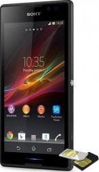 Telefon Mobil Sony Xperia C C2305 Dual Sim Black
