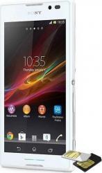 Telefon Mobil Sony Xperia C C2305 Dual Sim White