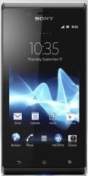 imagine Telefon Mobil Sony Xperia J ST26I Black 61856