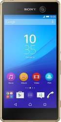 Telefon Mobil Sony Xperia M5 16GB Dual Sim 4G Gold