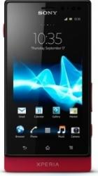 imagine Telefon Mobil Sony Xperia Sola MT27I Red. semt27rd_resigilat