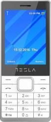 Telefon Mobil Tesla Feature 3 Dual SIM White Telefoane Mobile