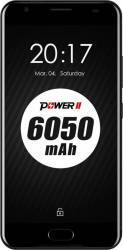 Telefon Mobil Ulefone Power II 64GB Dual SIM 4G Black + Husa si Folie Telefoane Mobile