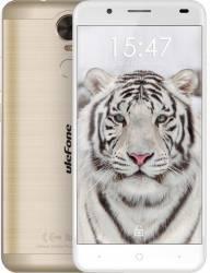 Telefon Mobil Ulefone Tiger Lite 16GB Dual Sim Gold Telefoane Mobile
