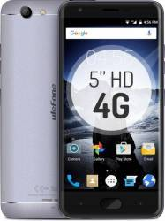 Telefon Mobil Ulefone U008 PRO 16GB Dual Sim 4G Grey + Husa Flip + Folie Sticla Telefoane Mobile