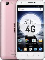 Telefon Mobil Ulefone U008 PRO 16GB Dual Sim 4G Pink + Husa Flip + Folie Sticla Telefoane Mobile