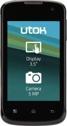 Telefon Mobil UTOK 351D Dual SIM Black
