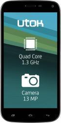 Telefon Mobil UTOK 500Q HD Dual Sim Black