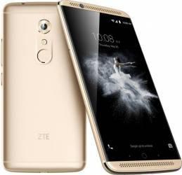 Telefon Mobil ZTE Axon 7 64GB Dual Sim 4G Ion Gold Telefoane Mobile