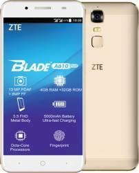 Telefon Mobil ZTE Blade A610 Plus 32GB Dual Sim 4G Gold Telefoane Mobile