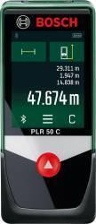 Telemetru laser cu Bluetooth Bosch PLR 50 C
