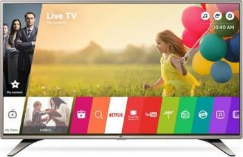 Televizor LED 123 cm LG 49LH615V Full HD Smart TV Televizoare LCD LED