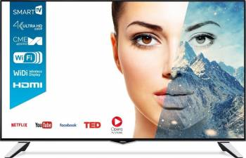 Televizor LED 109 cm Horizon 43HL8510U 4K UHD Smart Tv 3 ani garantie Televizoare LCD LED