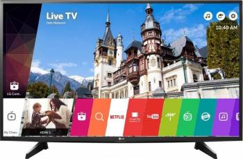 Televizor LED 109 cm LG 43UH6107 4K UHD Smart Tv Quantum Display Televizoare LCD LED