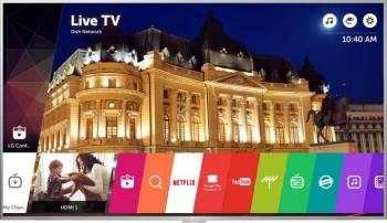 Televizor LED 109 cm LG 43UH664v 4K UHD Smart TV