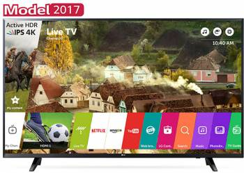 Televizor LED 123 cm LG 49UJ620V UHD 4K Smart Tv Televizoare LCD LED