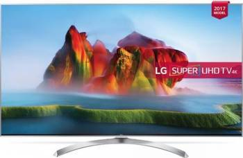 Televizor NANO LED 123 cm LG 49SJ810V 4K SUHD Smart TV Televizoare LCD LED
