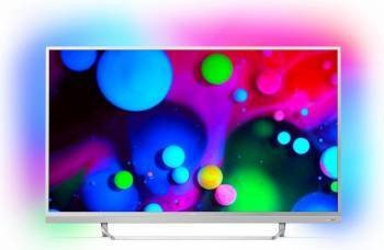 Televizor LED 123 cm Philips 49PUS6482 4K UHD Smart Tv Android Televizoare LCD LED