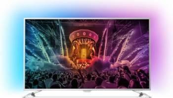 Televizor LED 139 cm Philips 55PUS6561 4K UHD Smart TV Ambilight Android Televizoare LCD LED