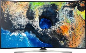 pret preturi Televizor LED 138 cm Samsung 55MU6202 4K UHD Smart TV Curbat