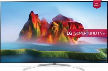 Televizor LED 139 cm LG 55SJ850V 4K SUHD Smart TV Televizoare LCD LED