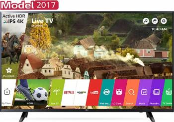 Televizor LED 139 cm LG 55UJ620V UHD 4K Smart Tv Televizoare LCD LED