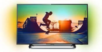 Televizor LED 139cm Philips 55PUS6262 UHD 4K Smart TV Ambilight Televizoare LCD LED