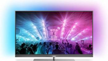 Televizor LED 139 cm Philips 55PUS7181 4K UHD Smart Tv Android Televizoare LCD LED
